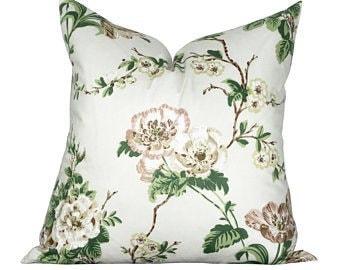 Schumacher Betty Chintz Pillow Cushion Cover
