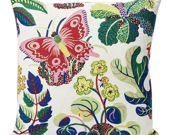 Josef Frank Pillow Exotic Butterfly Cover