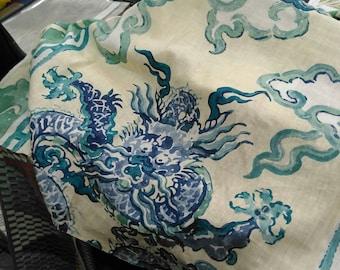 Jim Thompson Enter the Dragons Chinoiserie 20 Inch Cushion Pillow Cover