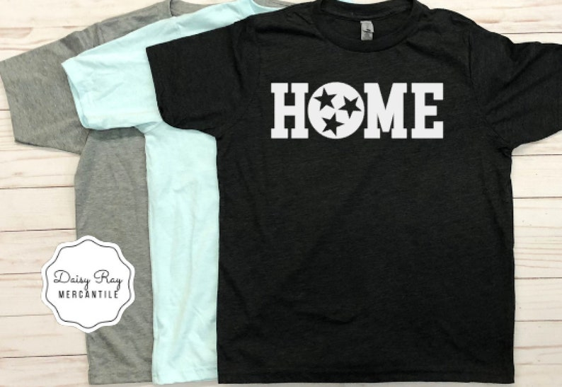 33872598 Tennessee Home Shirt • Youth TN Shirt • TN Home Tri-Star Shirt • Kids Home  Shirt • Tennessee Shirt • TN Shirt • Tennessee Gift