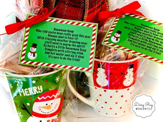 Professeur Cadeau De Noël Nursery Teacher Teaching Assistant vous remercier bonhomme de neige Soupe