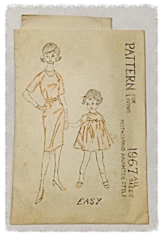 Vintage Card Handmade Mother And Daughter Dinner Program Etsy