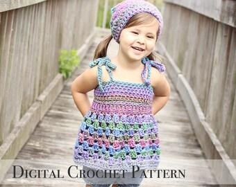 Tank Top Pattern / Fall Crochet Pattern / Crochet Tank Top / Tunic Pattern 031 / Kerchief Pattern 009 / DIY Gift for Her / Photo Prop