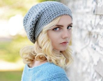 Crochet Slouchy Hat for Women / Slouchy Beanie Hat / Women's Slouch Hat / Chunky Winter Hat / Fall Fashion / Boho Fashion / Fashion Trend