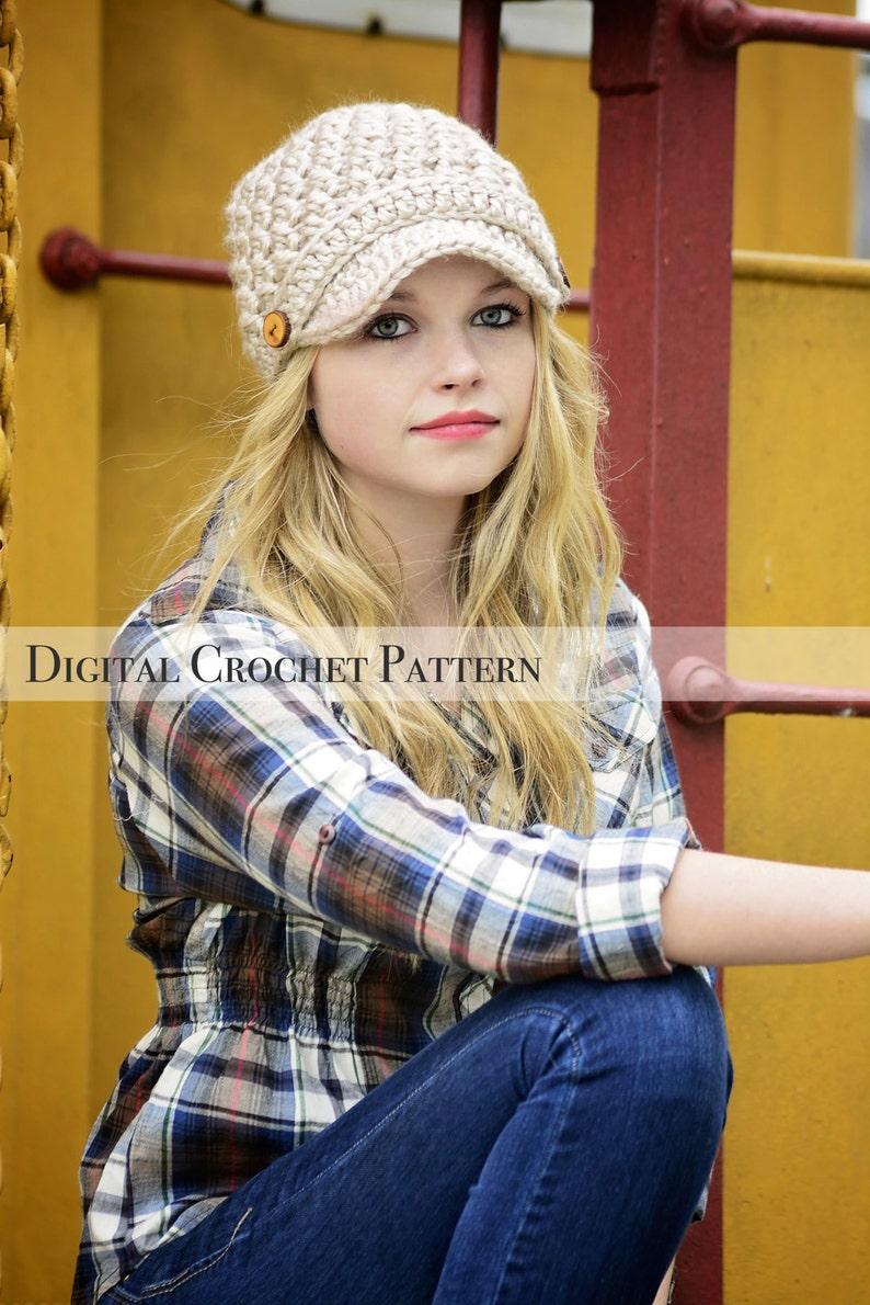 e9a2065d483 Crochet Pattern   Women s Cross Stitch Hat Pattern 002
