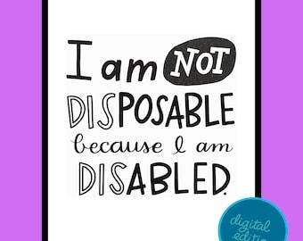Disability Digital Print #2