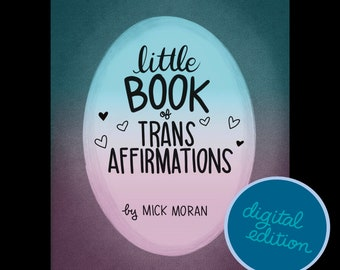 Little Book of Trans Affirmations Zine (Digital)