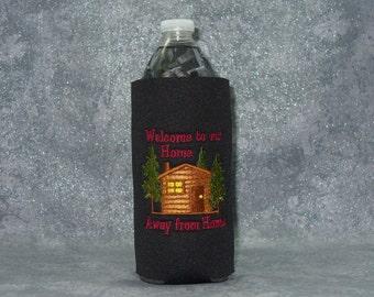 Bottle, Beverage Holder,Cabin, Water Bottle Cozy