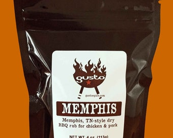 CHICKEN and PORK Spices for Barbecue, Smoking and Grilling