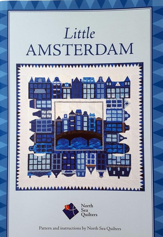 Kleine Amsterdam quilt Nähen niederländische Häuser   Etsy