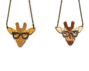 Giraffe Nerd Necklace