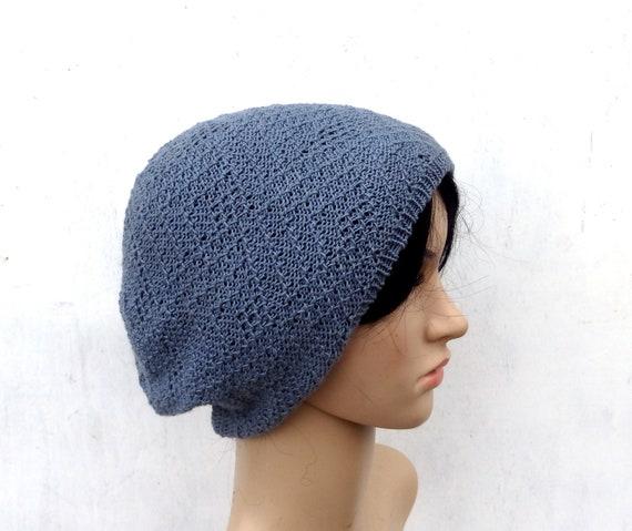 gestrickte Baumwolle Sommer Hut Mütze stricken | Etsy