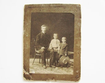 Vintage Photography Portrait for mixed media, assemblage, digital scrapbooking.
