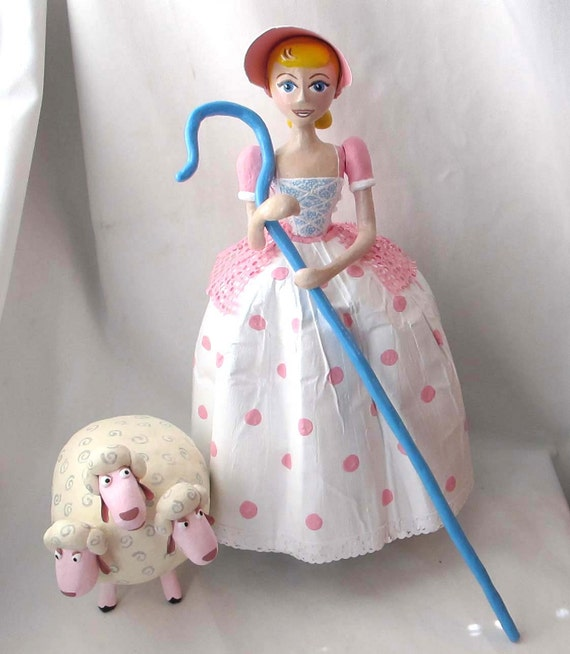 Toy Story Bo Peep And Her Sheep Replica Etsy