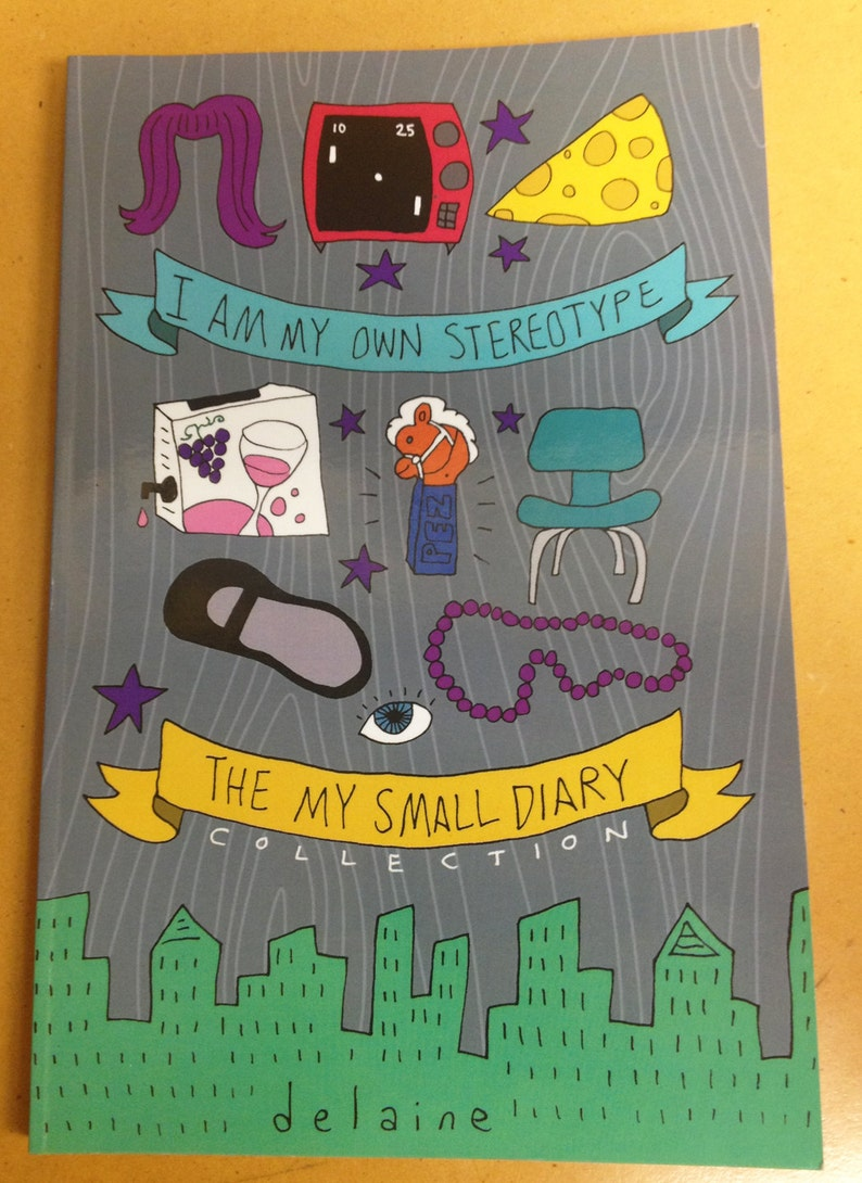 The MY SMALL DIARY Collection  zine  whimsical autobio image 0