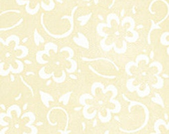 Flowers Ecru, She Who Sews, J Wecker Frisch, Quilting Treasures, Sewing Fabric, Flower Fabric, Quilting Cotton, Floral