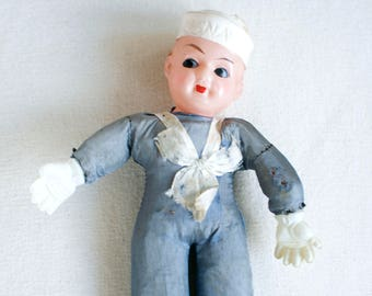 toy Navy sailor 40s
