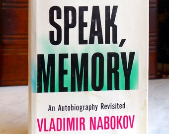 Speak, Memory Nabokov Book