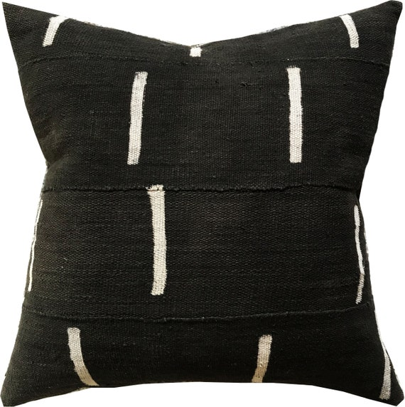 Kilima Bogolan Mudcloth Pillow Cover by