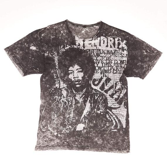 Jimi Hendrix Dyed T-Shirt