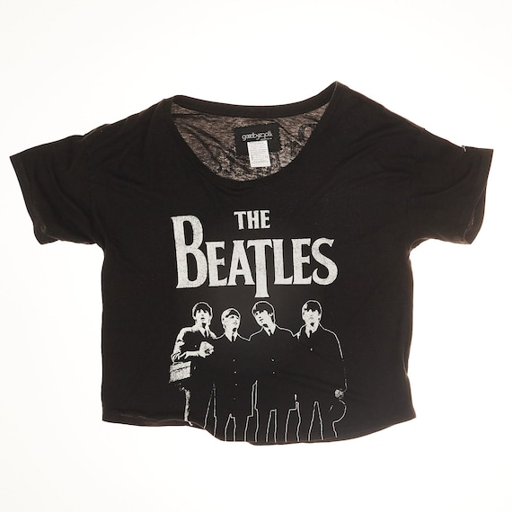 The Beatles Cropped T-Shirt