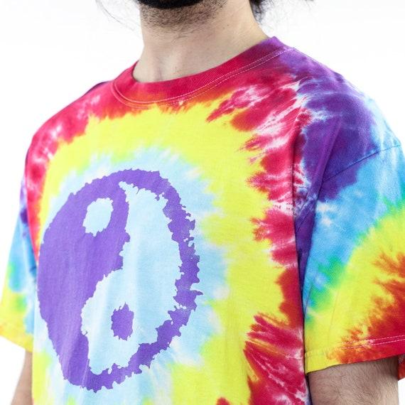 Ying Yang Tie-Dye Vintage T-shirt - image 4