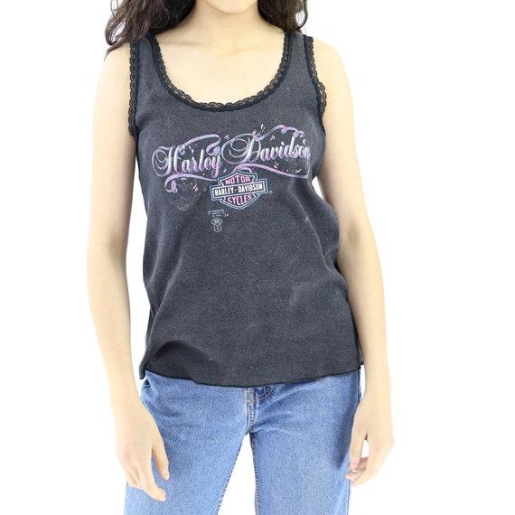Harley-Davidson Lace Tank Top