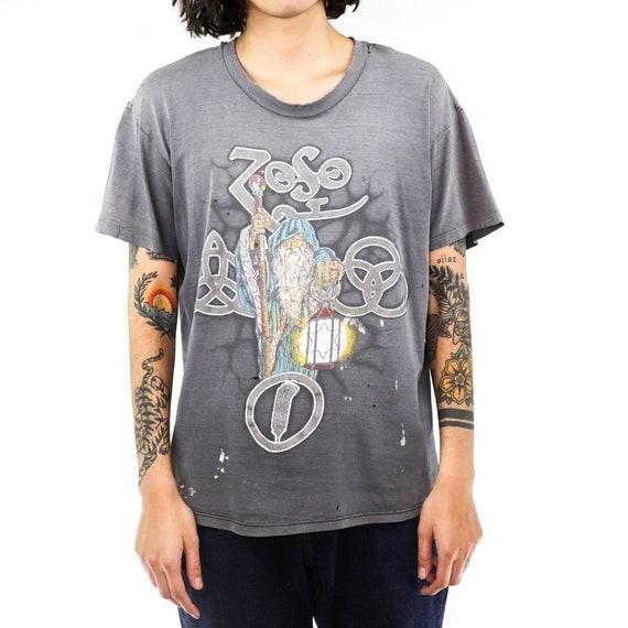 Led Zeppelin Zoso Vintage T-shirt