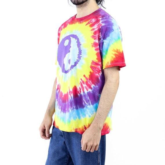 Ying Yang Tie-Dye Vintage T-shirt - image 2