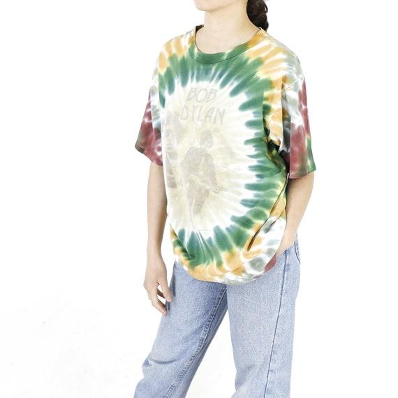 Bob Dylan Tie-Dye Vintage T-shirt