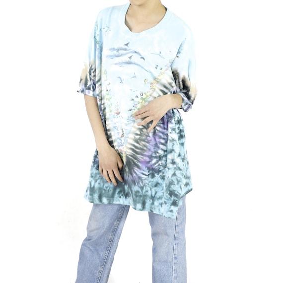 Reef Life Tie-Dye Vintage T-shirt