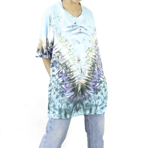 Reef Life Tie-Dye Vintage T-shirt - image 2