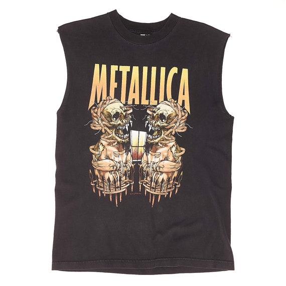 2000 Metallica Cropped T-Shirt