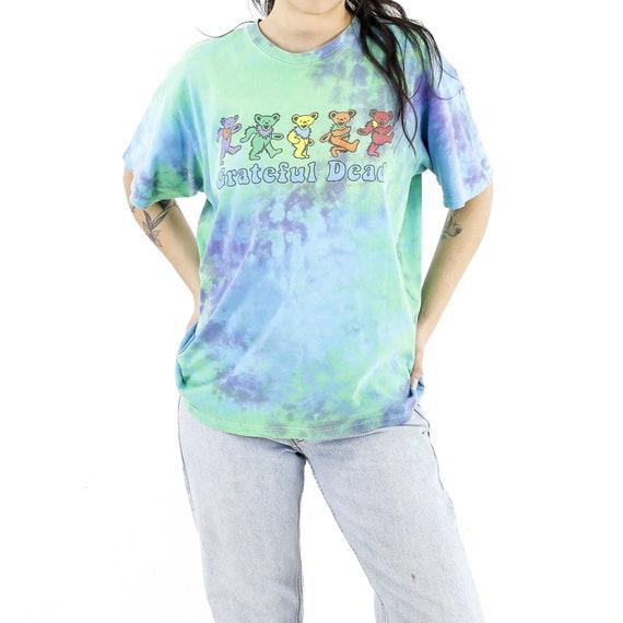 Grateful Dead Green Parade Tie-Dye Vintage T-shirt