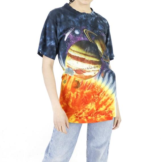 Tie-Dye Solar System Vintage T-shirt
