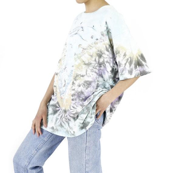 Coral Reef Tie-Dye Vintage T-shirt - image 2