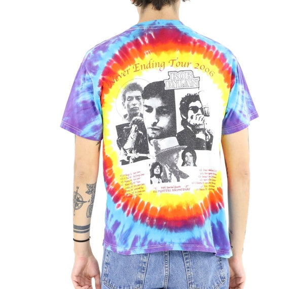 Bob Dylan Tie Dye Vintage T-shirt - image 3