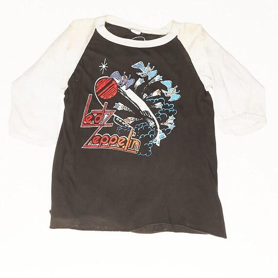 Led Zeppelin Zoso Vintage Tshirt