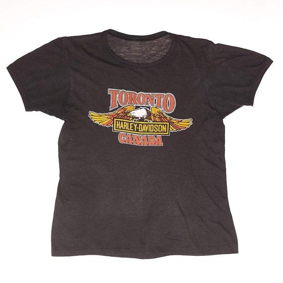 Harley Davidson Toronto Vintage T-Shirt