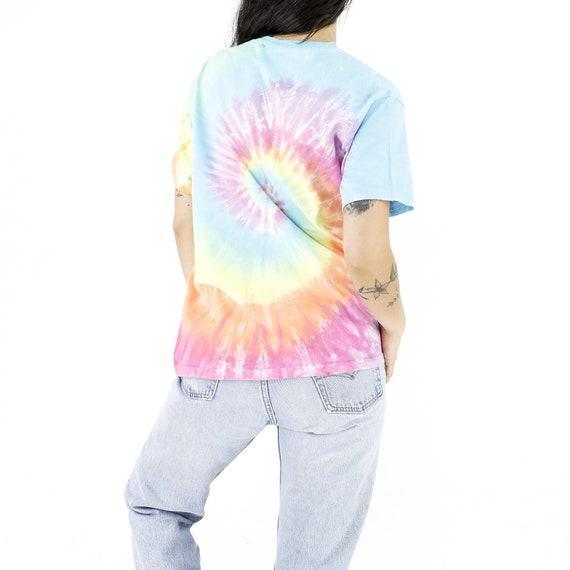 Rainbow Bears Tie-Dye Vintage T-shirt - image 3