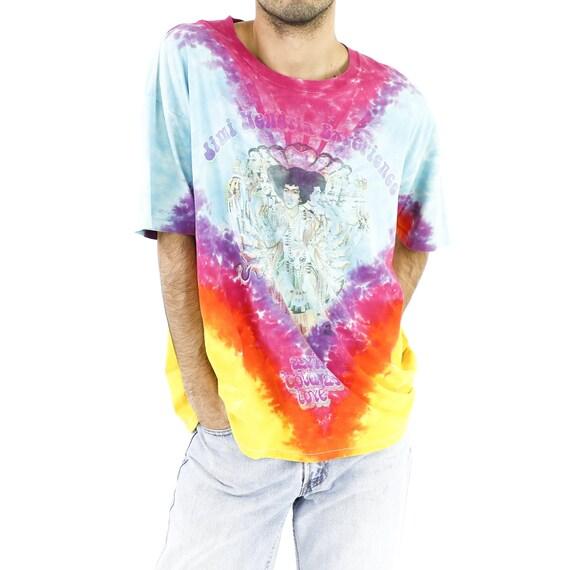 Jimi Hendrix Experience Tie-Dye Vintage T-shirt