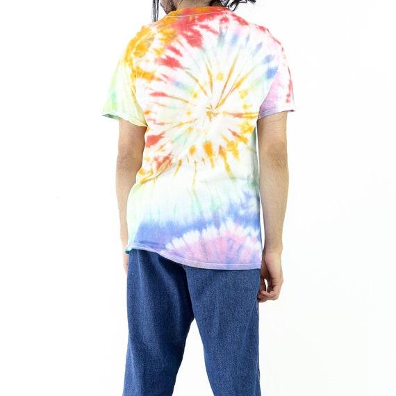 Supernova Tie-Dye Vintage T-shirt - image 3