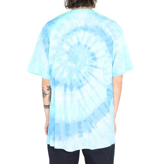 "The Beatles ""Submarine"" Baby Blue Cotton Tie Dye … - image 3"