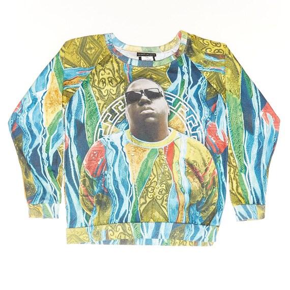 Notorious BIG all over print sweatshirt