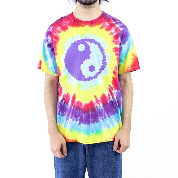 Ying Yang Tie-Dye Vintage T-shirt