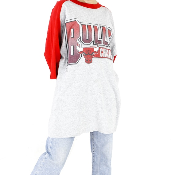 Chicago Bulls White Vintage T-shirt
