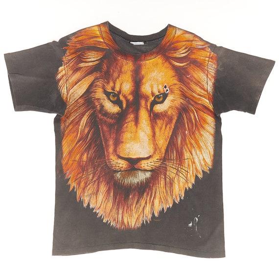Lion King All Over Print Vintage Tshirt