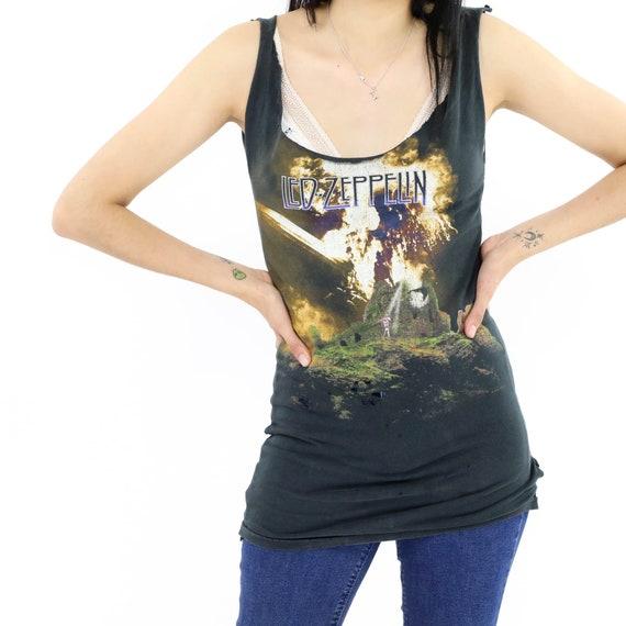Led Zeppelin Band Vintage T-shirt