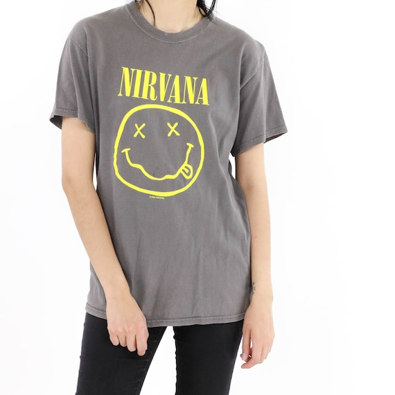 Nirvana Gray Vintage T-shirt