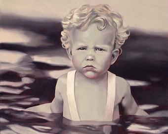 Water Like Oil - Fine Art Print